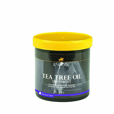 Lincoln Tea Tree Oil Ointment - Horse Pony Care - 500g