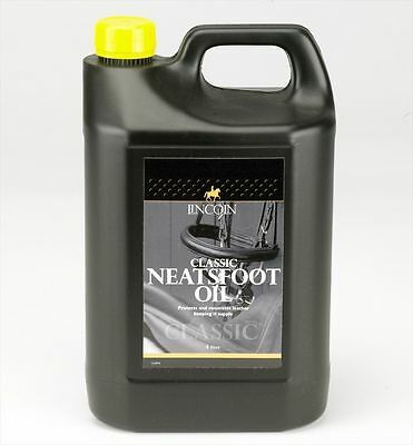 Lincoln Classic Neatsfoot Oil - Tack Cleaning - 4 litre
