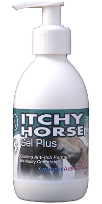 ITCHY HORSE GEL PLUS 250ml - Stops Itching Fast! Sweet Itch & Fly Bites