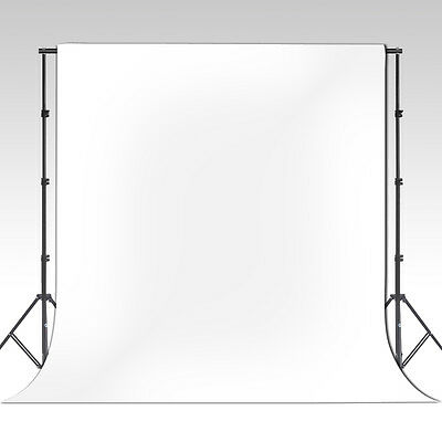 6 x 9ft White Muslin Photo Backdrop Background, Free Ship Photography USA Seller