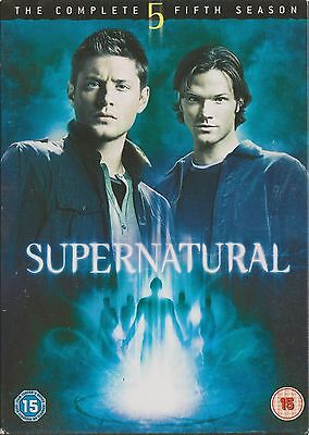 SUPERNATURAL - Series 5. Jared Padalecki, Jensen Ackles (6xDVD BOX SET 2010)