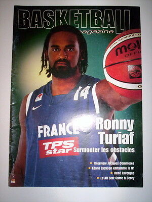 Basketball Magazine N°722 Fevrier 2007 Ronny Turiaf Surmonte Les Obstacles