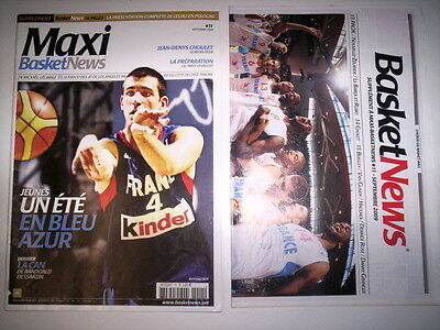 Maxi Basket News N°11 Sept. 2009 + Supplement