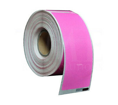 1 2 3 5 10 20 40 50 Rolls 99012 Pink Dymo / Seiko Compatible Address Labels
