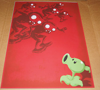 New! Plants vs Zombies | Bobsled Zombies Screen Print | Limited & Numbered / 300