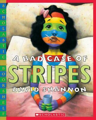 A Bad Case of Stripes by David Shannon Paperback Book (English)