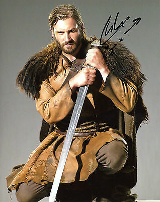 Clive Standen Signed 8x10 Vikings Rollo Camelot Exact Proof
