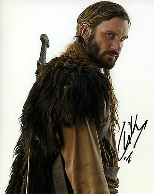 Clive Standen Signed 8x10 Vikings Rollo Camelot Robin Hood Exact Proof