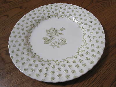 "HTF VTG J. & G. MEAKIN 10"" DINNER PLATE DISCONTINUED CLASSIC ""BUCKINGHAM""PATTERN"