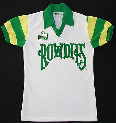 1980s TAMPA BAY ROWDIES ADMIRAL HOME FOOTBALL SHIRT (SIZE S)