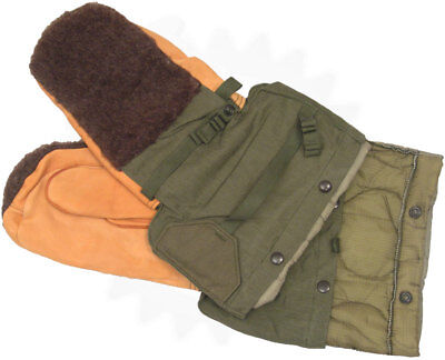 Arctic Extreme Cold Weather Mittens & Liner US Military-N4B Small ECW Gloves New