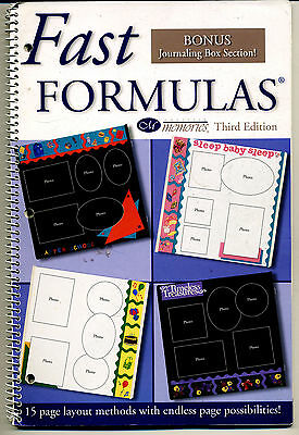 Creative Memories Fast Formulas Vol 3 Ideas Book 2001 Bn & Nla