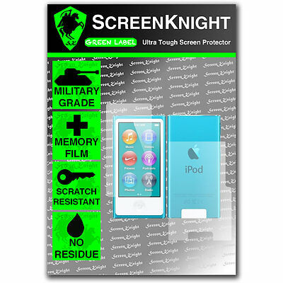 ScreenKnight Apple iPod Nano 7th Gen FULL BODY SCREEN PROTECTOR invisible Shield