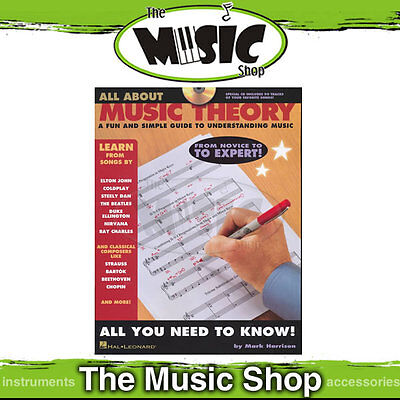 """New """"All About Music Theory"""" Book & CD - Learn Music Theory"""