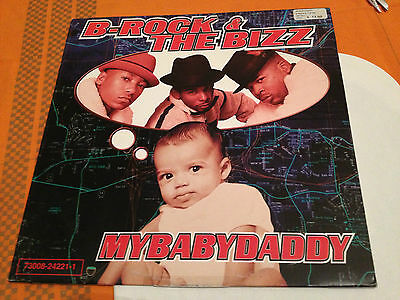 "B-ROCK & THE BIZZ - MY BABY DADDY - Orig.12"" Single 1997 US Hip Hop - VG+/NM"