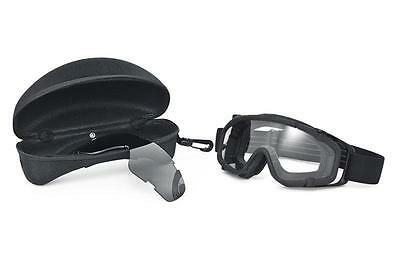 1cc20bd683 OAKLEY SI BALLISTIC Goggle 2.0 with Black Frame and Gray Lens ...