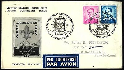 1967 USA Belgium BOY SCOUT Cover S22