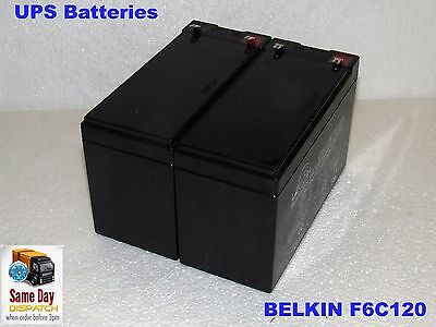 UPS Battery Kit - Direct Replacement for BELKIN F6C120-UNV