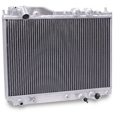 40Mm Aluminium Alloy High Flow Race Radiator Rad For Honda Civic 01-05 1.7 Cdti