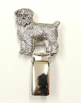 Griffon Brussels Rough Coat, Show Ring Clip/Number Holder