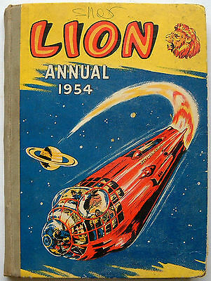 Lion Annual 1954: Fleetway House: Unclipped (7/-): 143 Pages