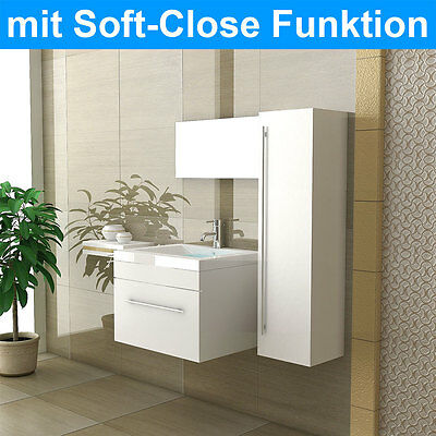 waschbecken mit unterschrank 55 cm waschplatz g ste wc. Black Bedroom Furniture Sets. Home Design Ideas