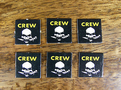 Oop Man O War Counters Tokens Crew X 6 (286)