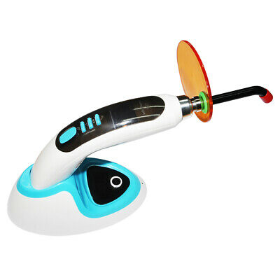 Wireless Cordless LED Dental Curing Light Lamp W Teeth Whitening 1800MW 10W -USA