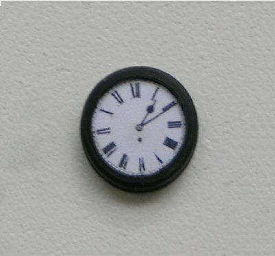 O Gauge Station Town Clock Single Faced For Hornby Style Model Railway Layout 0