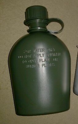 Vietnam Canteen Water Bottle - 1 Litre Plastic Australian Reproduction