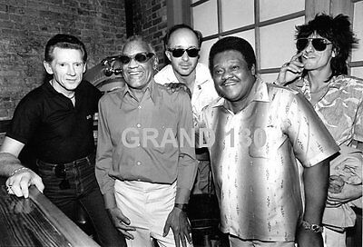 Celebrity Pictures - Jerry Lee Lewis, Ray Charles, Paul Schaffer, Fats Domino