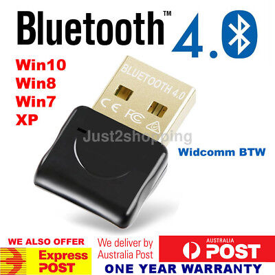 USB Bluetooth 4.0 Widcomm Adapter Wireless Dongle with A2DP EDR For PC Laptop