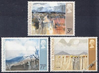 GB 1971 'Ulster 1971' Paintings SG881-3 Complete Set Unmounted Mint