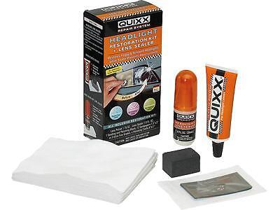 KIT RENOVATEUR OPTIQUE DE PHARE en PLASTIQUE POLYCARBONATE QUIXX