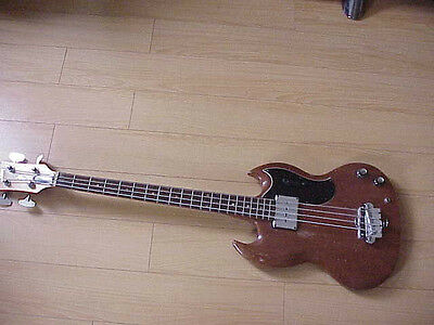 Vintage 1966 Gibson EB-0 Electric Bass Guitar