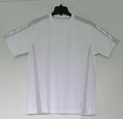 New Reebok Men's Performance Fitness Tee T-Shirt White