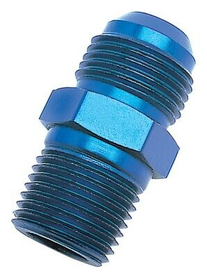 AN to NPT Adapter Fittings Blue Anodized  660060 Russell Performance