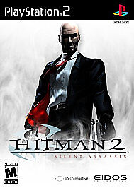 Hitman 2:  Silent Assassin (RED AND BLACK LABEL) (PS2), Excellent PlayStation2,