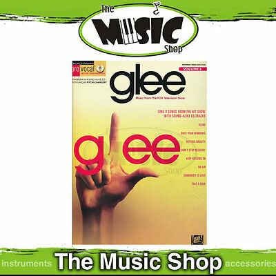 New Glee Pro Vocal Men & Womens Edition Volume 8 - Book & CD
