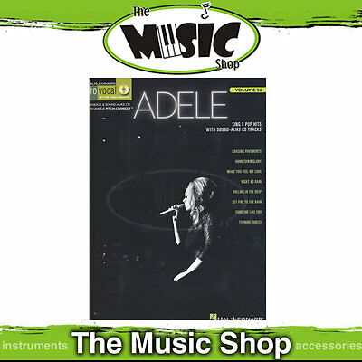 New Adele Pro Vocal Womens Book & CD - Volume 56