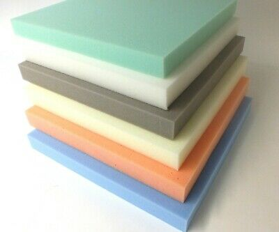 Upholstery foam cushions. Replacement foams. Select any size or depth, free post