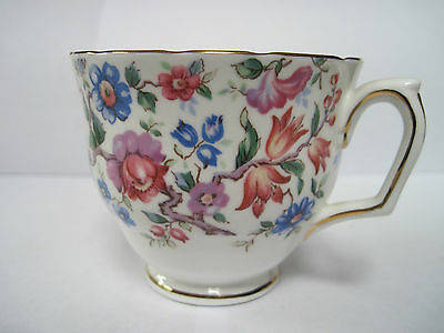 Crown Staffordshire Bone China Cup and Saucer