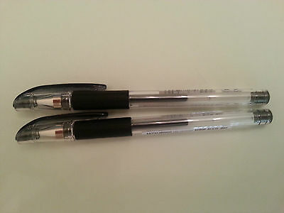 Uni-Ball Signo UM-151 0.28 mm Roller Pen (2 black pens)