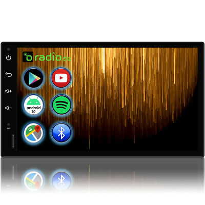 AUTORADIO mit Bildschirm DAB+ Bluetooth 2 Din Doppel DVD USB MP3 Navigation Navi