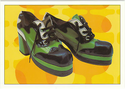 Robert  Opie  Advertising  Postcard  -  Men's  Platform  Shoes