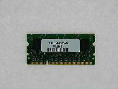 CE483A 512MB DDR2 144pin DIMM  Memory for HP LaserJet P4015 P4515