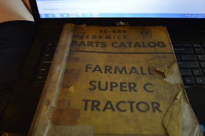 International Harvester Super C Tractor Dealer's Parts Book ABPA