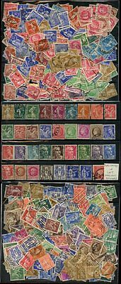 FRANCE 1000 stamps 1906-45 SOWER + MARIANNE ACCUMULATION FINE USED