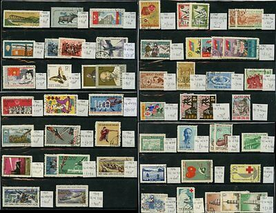 VIETNAM 1957-72 SETS + SINGLES FINE USED...54 stamps