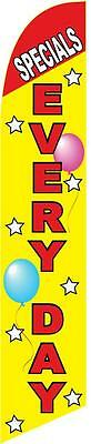 Specials Everyday 12ft Feather Banner Swooper Flag - FLAG ONLY